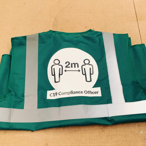 Covid 19 Compliance Officer Vests